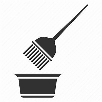 Hair Brush Dye Bowl Coloring Tint Hairdressing