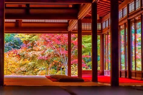japanese house  autumn fond decran hd arriere plan