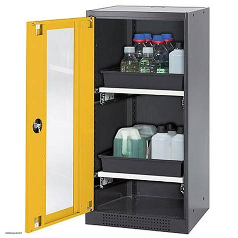 Chemical Cabinets by Asecos Chemical Storage Cabinet Cs Classic G 54 Cm