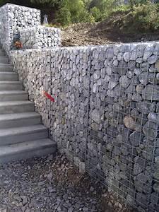Mur En Gabion : gabions edgard terrassement ~ Premium-room.com Idées de Décoration