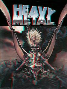 Heavy Metal cover 3-D conversion by MVRamsey on DeviantArt