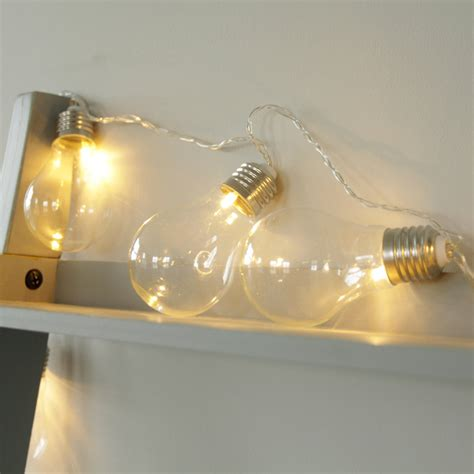 light bulb lights bedroom lighting globe string