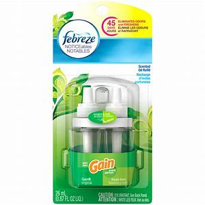Febreze NOTICEables Gain Original Single Oil Refill Air ...