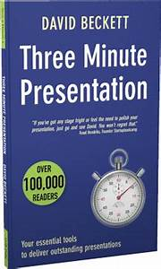 Best 3 Minutes | Presentation Skills Training Amsterdam ...