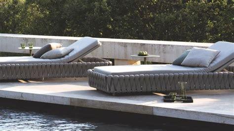 chaise longue et bain de soleil design c 244 t 233 maison