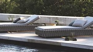 Bain De Soleil Design : chaise longue et bain de soleil design c t maison ~ Teatrodelosmanantiales.com Idées de Décoration