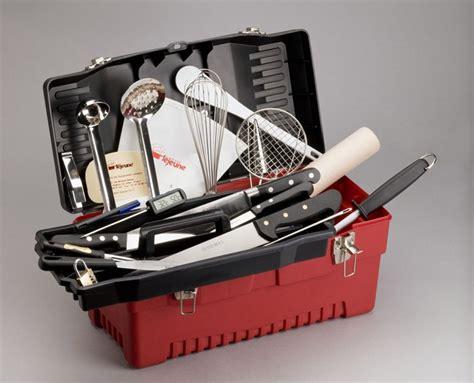 mallette cuisine mallette plastichef pour couteaux et ustensiles