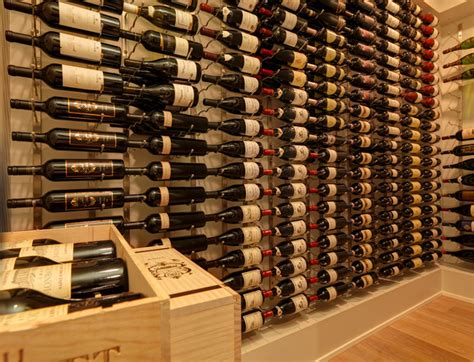 Vintage View Wine Racking  Modern  Wine Cellar Other