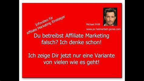 Marketing Für Anfänger by Affiliate Marketing F 252 R Anf 228 Nger Wie Macht Es
