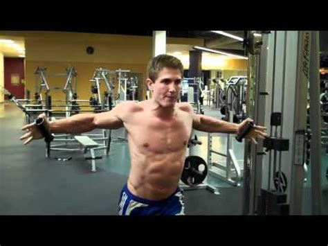 pec deck flyes cable crossovers how to high cable chest fly