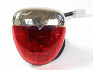 Atv Led Tail Brake Light Bulb Lens Kazuma Sunl 50cc 70cc