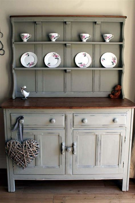 display kitchen cabinets for ercol dresser transformed with autentico chalk paint linen 8740