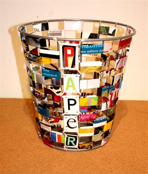 totally awesome ideas  reuse  newspapers