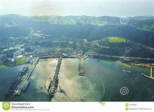 Aerial View Of Point Loma, San Diego Stock Image - Image ...