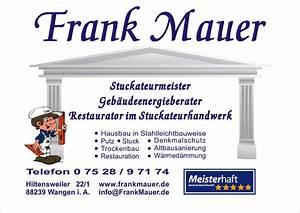 Stuccolustro Im Bad : mauer frank ihr meisterhaft betrieb in wangen ~ Bigdaddyawards.com Haus und Dekorationen