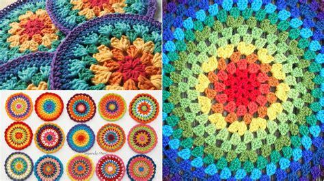 easy gorgeous crochet mandala  patterns video