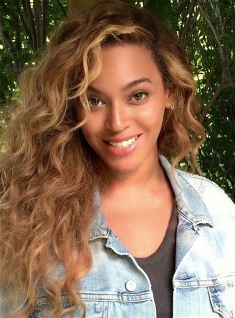 Beyonce Long Curly Lace Front Human Hair Wig 22 Inches in ...