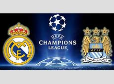Manchester City vs Real Madrid HD wallpaper with logo of