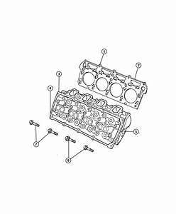 Ram 1500 Head  Head Assembly  Cylinder  Engine Cylinder