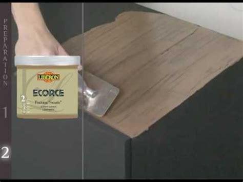 peindre meuble cuisine mélaminé peinture meuble boiserie ecorce de libé