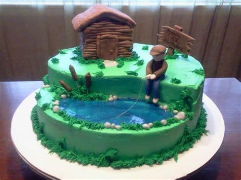 Hunting Themed Birthday Cakes