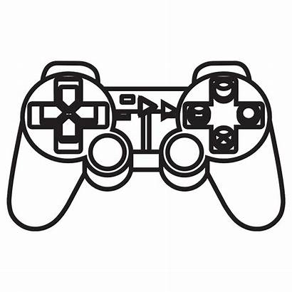 Controller Playstation Clipart Console Ps4 Ps Coloring