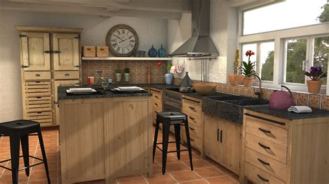 cuisines maisons du monde projet cuisines cocina pagnol 2 by lidiale