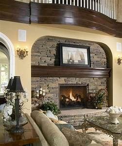 25, Stone, Fireplace, Ideas, For, A, Cozy, Nature