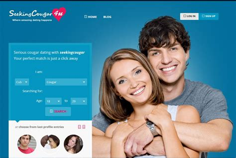 # 10 Seeking Cougar Review  The 10 Best Cougar Dating Sites