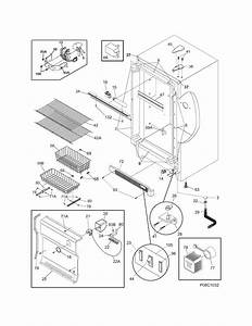 Cabinet Diagram  U0026 Parts List For Model Lffh2067dw4 Frigidaire
