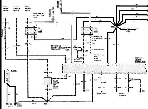 Ford Ranger Wiring Schematic Engine Diagram