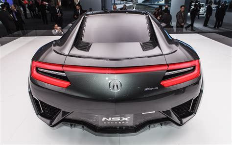 Version 20 Updated Acura Nsx Concept Shows Possible