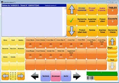 logiciel gestion cuisine télécharger startcaisse food pour windows shareware