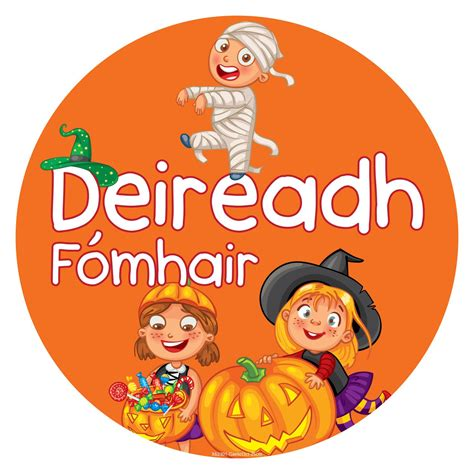 Months Sign Set (as Gaeilge)