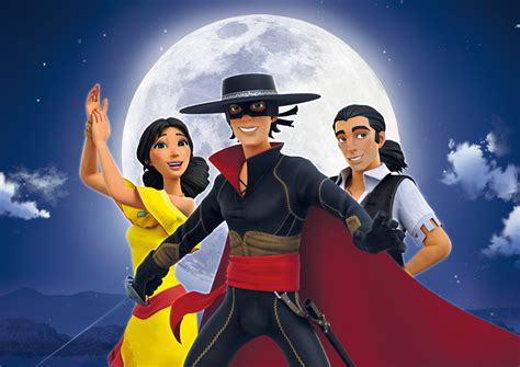 zorro chronicles series hulu animated cyber french launches revenues export hit snaps animationmagazine