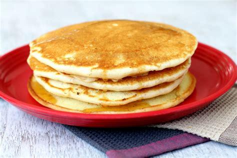 pancake recipe  eggless pancakes  scratch   fluffy