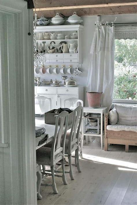 meuble cuisine shabby chic rénovation cuisine décorer une cuisine shabby chic élégante