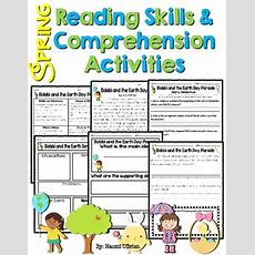 Reading Skills & Reading Comprehension Activities Spring