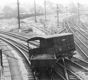 Hatton Station  Close Up Of The Derailed Brakevan  A 20ton