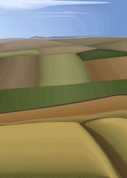 south korea vector landscape vector  vector  adobe
