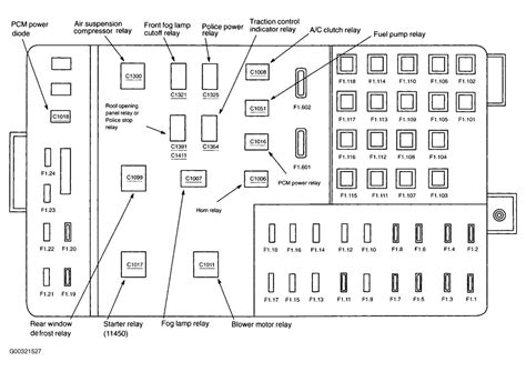 Fuse Box Diagram For 1997 Mercury Grand Marqui by Wrg 3427 2003 Mercury Grand Marquis Wiring Diagram Lights