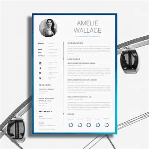 17 awesome examples of creative cvs resumes guru With creative resume design templates