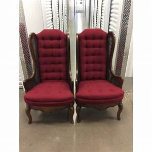 Mid, Century, Modern, Wing, Back, Chairs