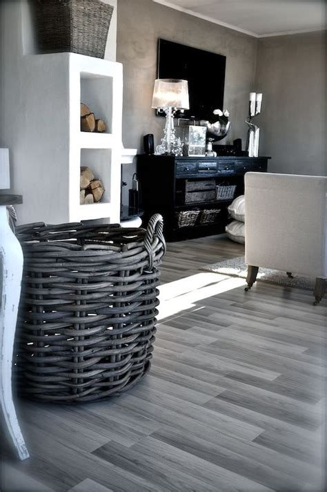 Grauer Boden Wohnzimmer by Tabulous Design Gray Walkways