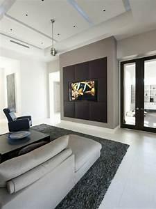 Tv wall panel ultra modern proposals room