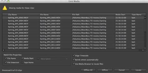 Link Media Premiere by Adobe Premiere Cc что нового