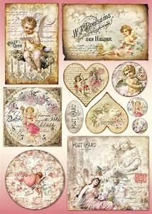 Hobby Und Co Neumünster : decoupagebogen postkarten vbs vintage pinterest und ~ Buech-reservation.com Haus und Dekorationen