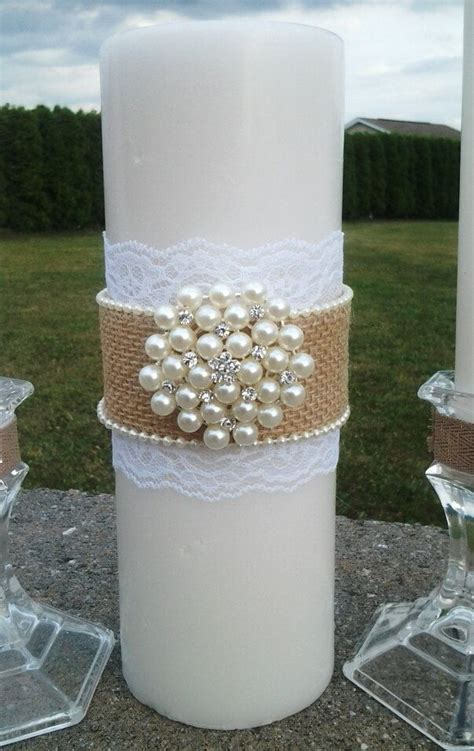 candele fatte a mano candele della tela da imballaggio unit 224 set con perle