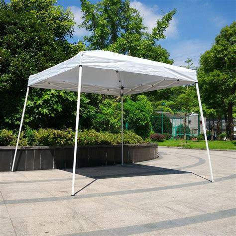 Folding Gazebo 10 X10 White Pop Up Wedding Tent Folding Gazebo Sun
