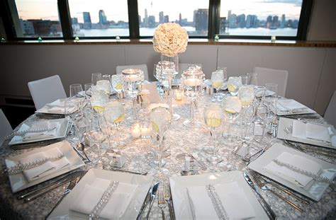 Classic White And Silver New York Wedding 13